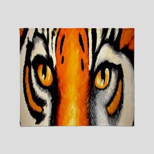 tigereyes Throw Blanket