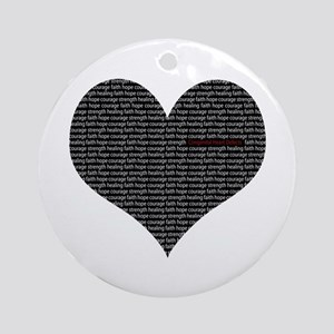 CHD AWARENESS Ornament (Round)