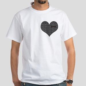 CHD AWARENESS White T-Shirt