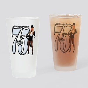 75yearcafepress1 Drinking Glass