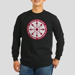 Embrace the chaos Long Sleeve Dark T-Shirt