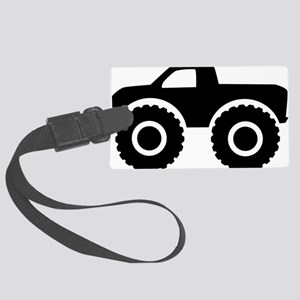 monster_truck Large Luggage Tag