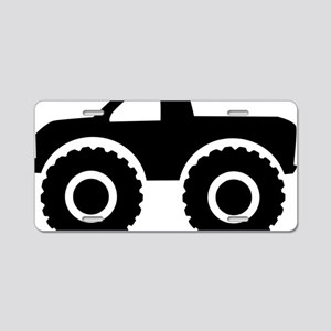 monster_truck Aluminum License Plate