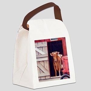 M1 Canvas Lunch Bag