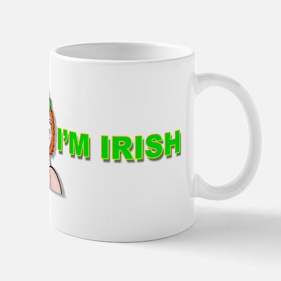 Kiss Me Im Irish Women briefs copy Mug