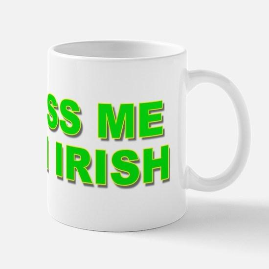Kiss Me Im Irish Women briefs 2 Mug