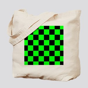 menswalletgrncheckerboard Tote Bag