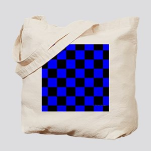 menswalletbluecheckerboard Tote Bag