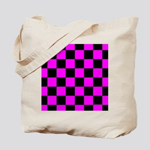 menswalletpinkcheckerboard Tote Bag
