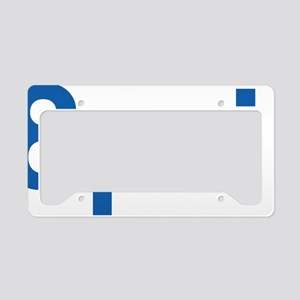 8pril-blue License Plate Holder