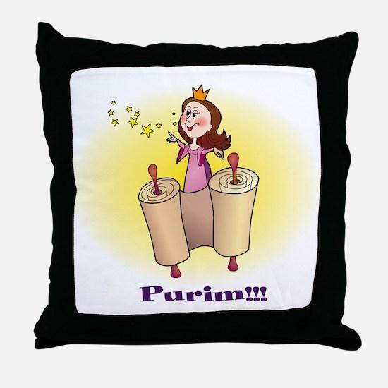 Princess Ester  Throw Pillow