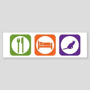 Eat Sleep Savannah Bumper Sticker