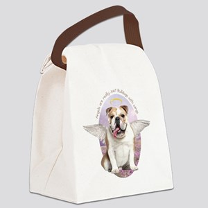 angelwithwings3 Canvas Lunch Bag