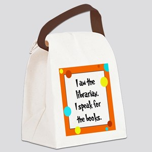 librarianlorax Canvas Lunch Bag