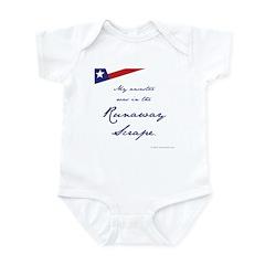 Runaway Scrape Infant Bodysuit