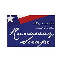 Runaway Scrape Rectangle Magnet (100 pack)