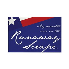 Runaway Scrape Rectangle Magnet (10 pack)