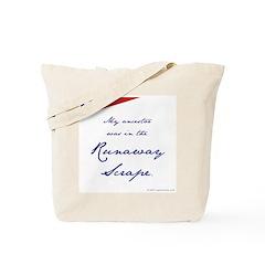 Runaway Scrape Tote Bag