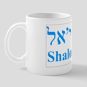 Shalom YAll box flat Mug