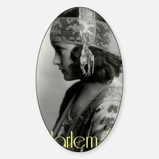 1920s 3 Sticker (Oval)