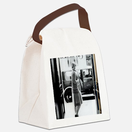 1920s 2 Canvas Lunch Bag