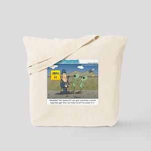 Area 51 Tote Bag