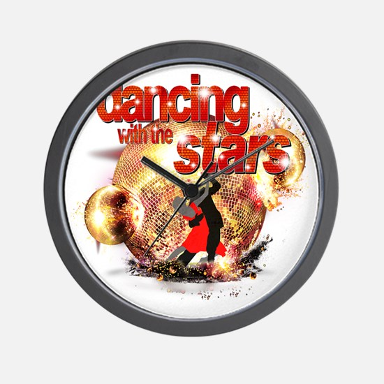 Dancing with the Stars Disco Balls Cras Wall Clock