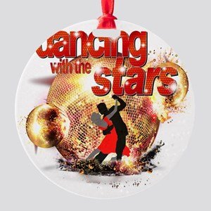 Dancing with the Stars Disco Balls  Round Ornament