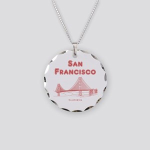 SanFrancisco_10x10_GoldenGat Necklace Circle Charm