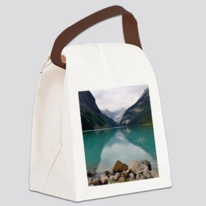 Lake Louise Canvas Lunch Bag