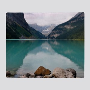 Lake Louise Throw Blanket