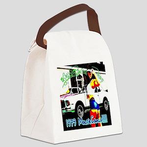 l clock 1979 mc 1 Canvas Lunch Bag