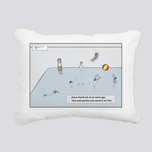 poolparty192_H_F Rectangular Canvas Pillow