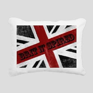 BRIT N SPIRED Rectangular Canvas Pillow