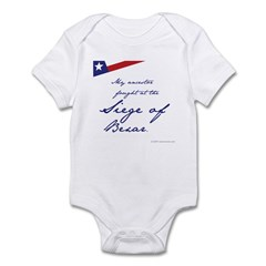 Siege of Bexar Infant Bodysuit