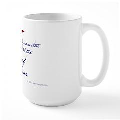 Siege of Bexar Large Mug