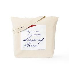 Siege of Bexar Tote Bag