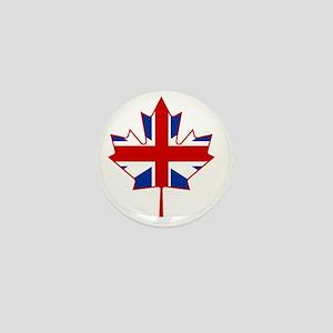 British in Canada Mini Button