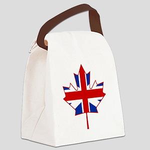 British in Canada Canvas Lunch Bag