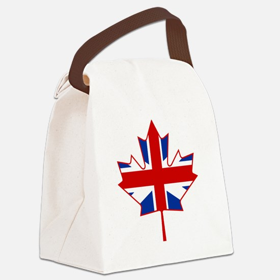 British in Canada Canvas Lunch Bag