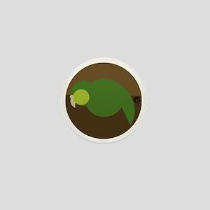 kakapo circle Mini Button