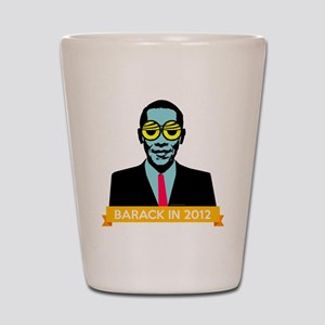 obama-pop2 Shot Glass