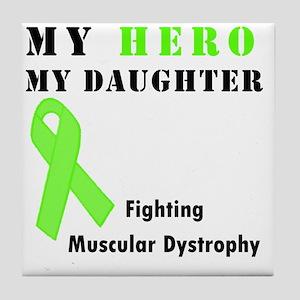 Hero MD daughter Tile Coaster