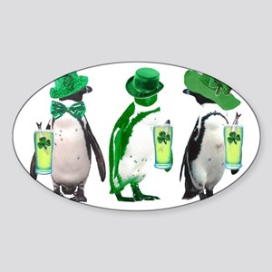 irishpenguins Sticker (Oval)