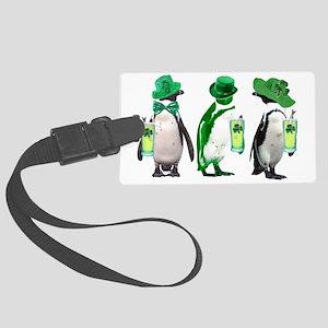 irishpenguins Large Luggage Tag