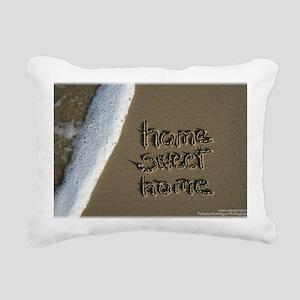 home sweet home Rectangular Canvas Pillow