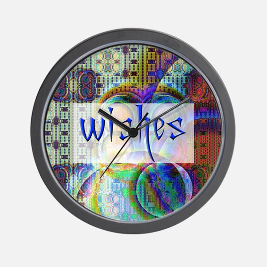 wishbox3 Wall Clock