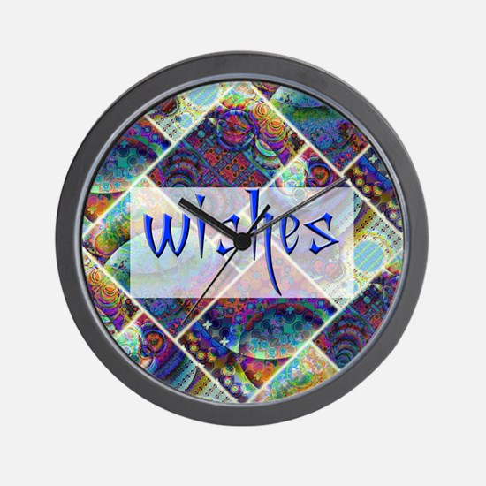 wishbox2 Wall Clock