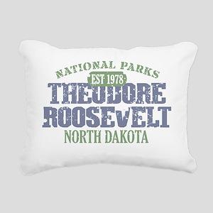 Theodore Roosevelt 1 Rectangular Canvas Pillow
