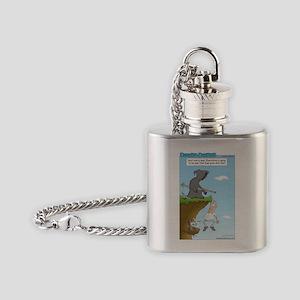 grim_reaper_help Flask Necklace